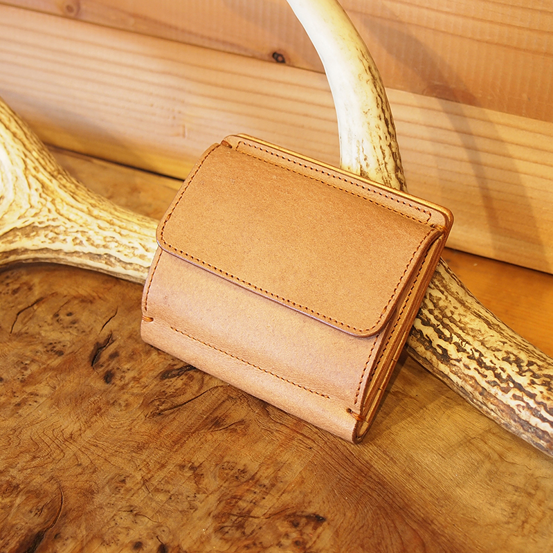 compact wallet / heエゾシカ