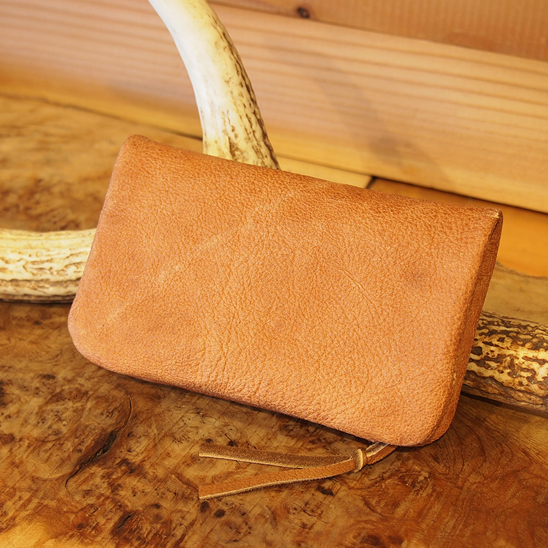 middle wallet / in-L / エゾシカ